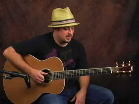 Acoustic Blues guitar lesson spice up that bluesy playing - YouTube