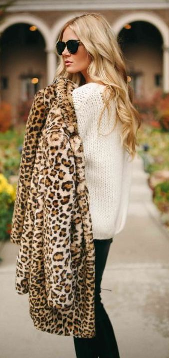 #fall #fashion / leopard print