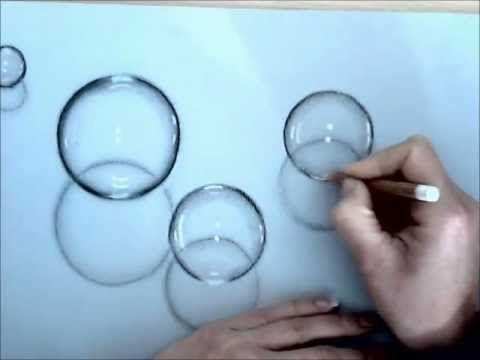 Come disegnare bolle di sapone