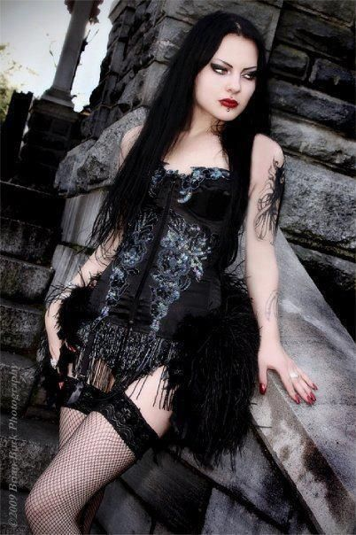 Gothic Beauty Sexy | media-cache-cd0.pinimg.com