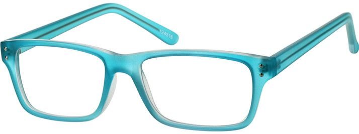 Order online, unisex blue full rim acetate/plastic rectangle eyeglass frames model #124516. Visit Zenni Optical today to browse our collection of glasses and sunglasses.