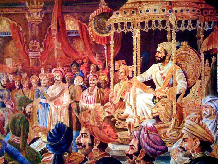 Shivaji Maharaj Rajyabhishek Wallpapers Download