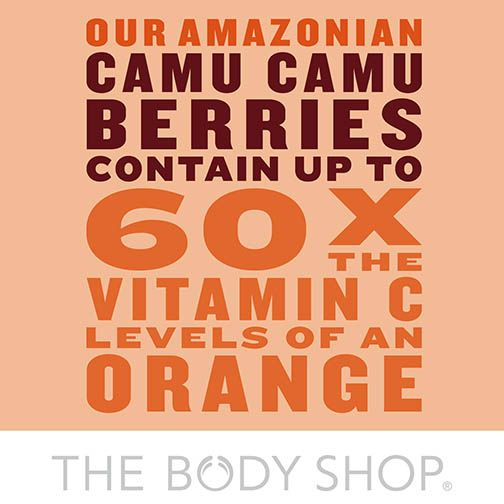 Amazonian camu camu berry is known to have one of the highest contents of vitamin C in nature! #skincare #VitaminC