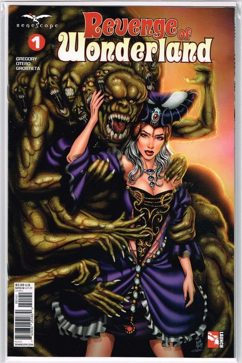 NM or better Grimm Fairy Tales Presents Wonderland 4 Cover A