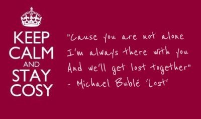 Michael Buble - 'Lost', as featured on 'Keep Calm And Stay Cosy' http://smarturl.it/KeepCalmAmazon