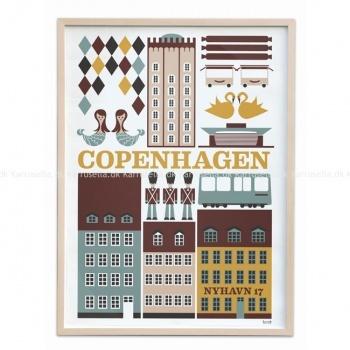 Plakat Copenhagen