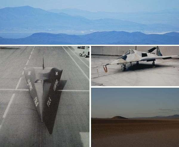 Top Secret Tombs: The Classified Stealth Aircraft Burial Grounds of Area 51