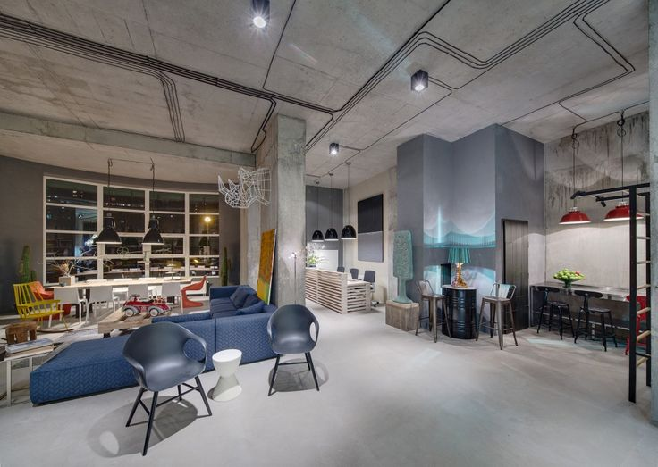 Good Dizaap Office: Bright Loft Space With Eclectic Interior Design
