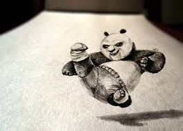 Image result for 3d art on paper with pencil for kids