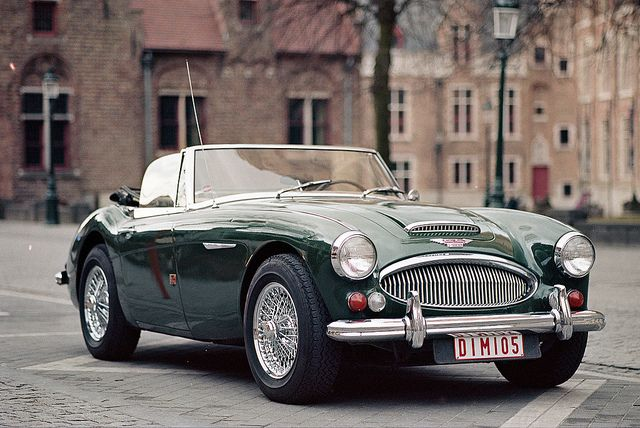 mysexyhotwife:  Austin Healey Mark III 3000 Beautiful……..