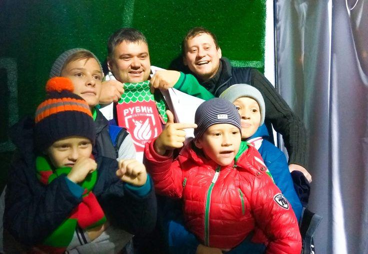 Футбольный клуб Рубин #fcrk победил команду Томь 2:1. Поздравляем команду.