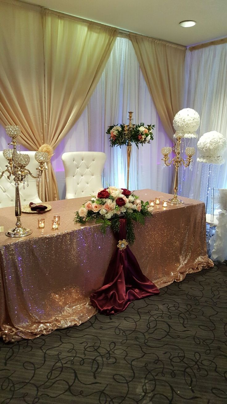Bridal show set up by sherrys diy event decor and rentals