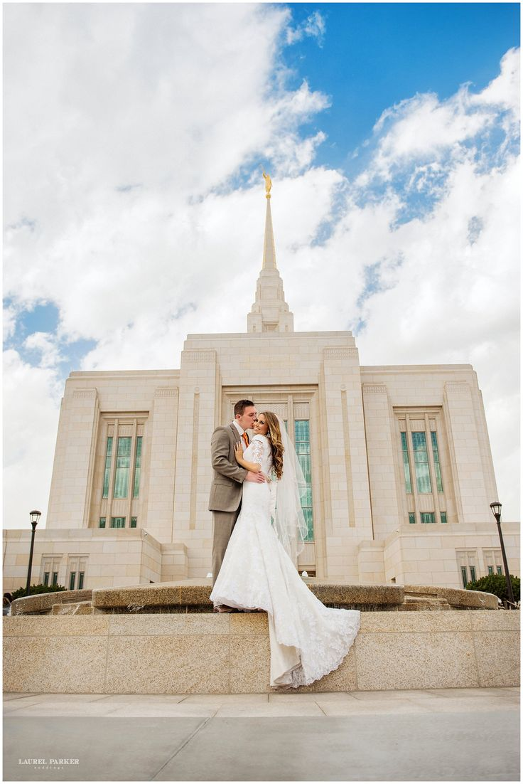 Here's a special treat from the ever-amazing Laurel Parker. This couple just radiates love and beauty. And it's lovely to get an up close and personal view of the newly dedicated Ogden Temple. Gorgeous!From the Photographer: Sweet Peyton & Taylor were the first couple I have shot at the Ogden