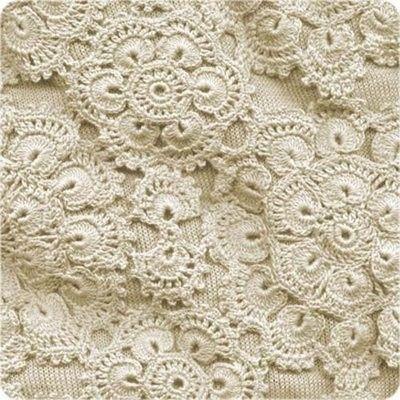 African Flower motifs in ivory.: Irish Crochet, Lace, Crochet Flower, Free Pattern, Flower Motif, Crochet Patterns