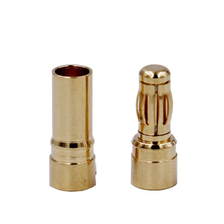 200pair 3.5mm Gold Bullet Banana Connector plug for ESC Lipo RC battery Plugs #Affiliate