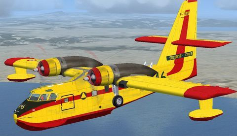 Canadair CL215 V3 for FSX