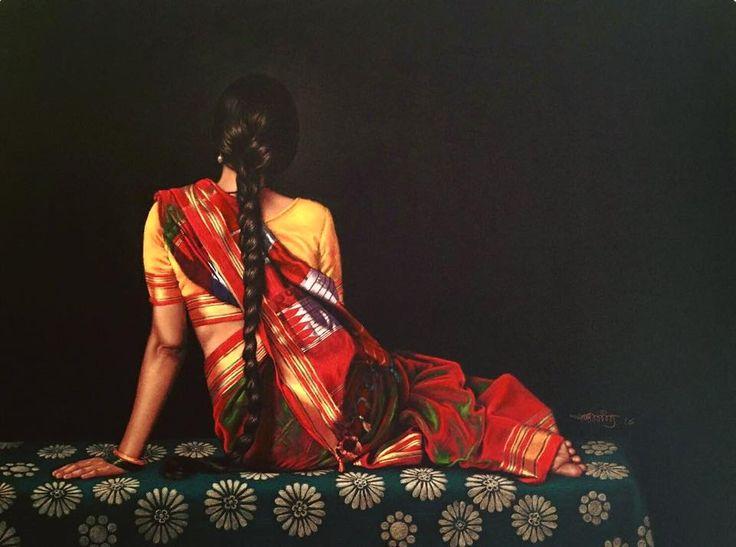 Color pencil on black paper byShashikant Dhotre