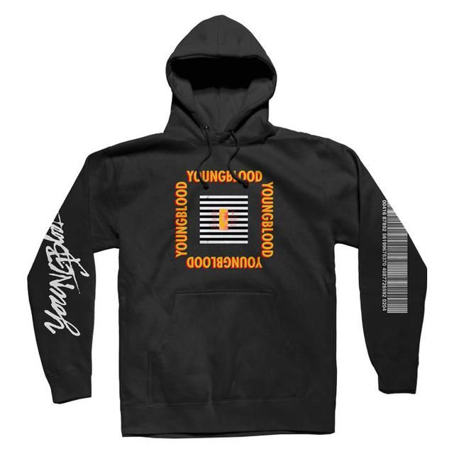 98f6114388eb Check out 5 Seconds Of Summer Black Youngblood Hoodie on  Merchbar.