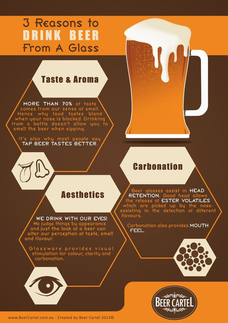 3 Reasons Beer Should be Served in a Glass (I tend to favor the bottle!).