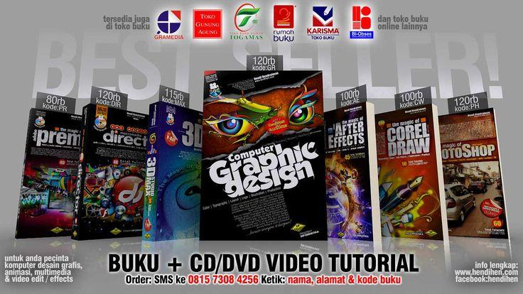 Buku Desain Grafis Komputer terlengkap Indonesia. Tersedia di Gramedia dan toko buku lainnya., Atau bisa pesan langsung ke penulis di http://hendihen.com/order.html