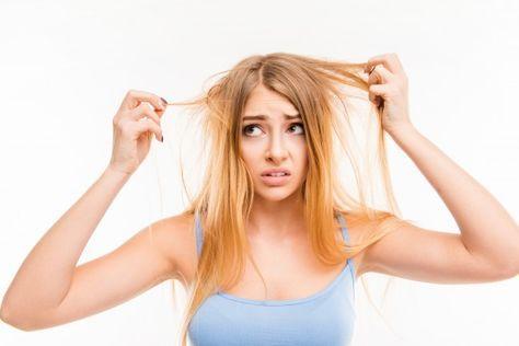 Tratamiento con sal para el cabello grasoso y la caspa