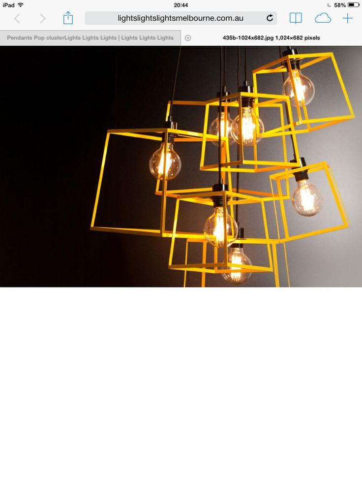 Pop cluster www.lightslightslights.com.au