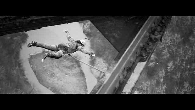 "Rope Swing by the PRASS Viaduc des Fades, Auvergne, FRANCE. 6 & 7 march 2013 Shot with Canon 5D mk III / Sony FS 700 / Gopro III by Adrien Bessac / Jean-Charles Belmont / Arthur Chaudet / Pierre-Emilio Medina & Brice Seguin Edit Adrien Bessac Music : Virtual Boy ""Thrust"" remixed www.riothouseprod.com"
