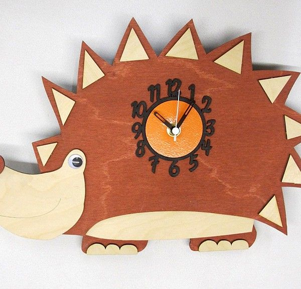 16 best Childrens Clocks images on Pinterest | Handmade wooden, Kool ...