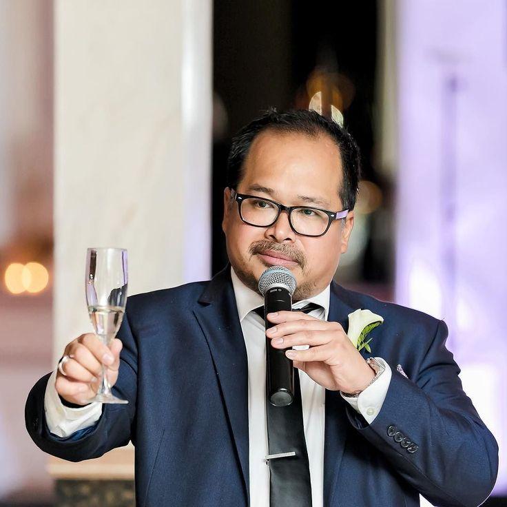 Loving the new #canonmarkiv the tones and the sharpness!  groomsmen speech shot by my partner. #gregandagnesareoffthemarket
