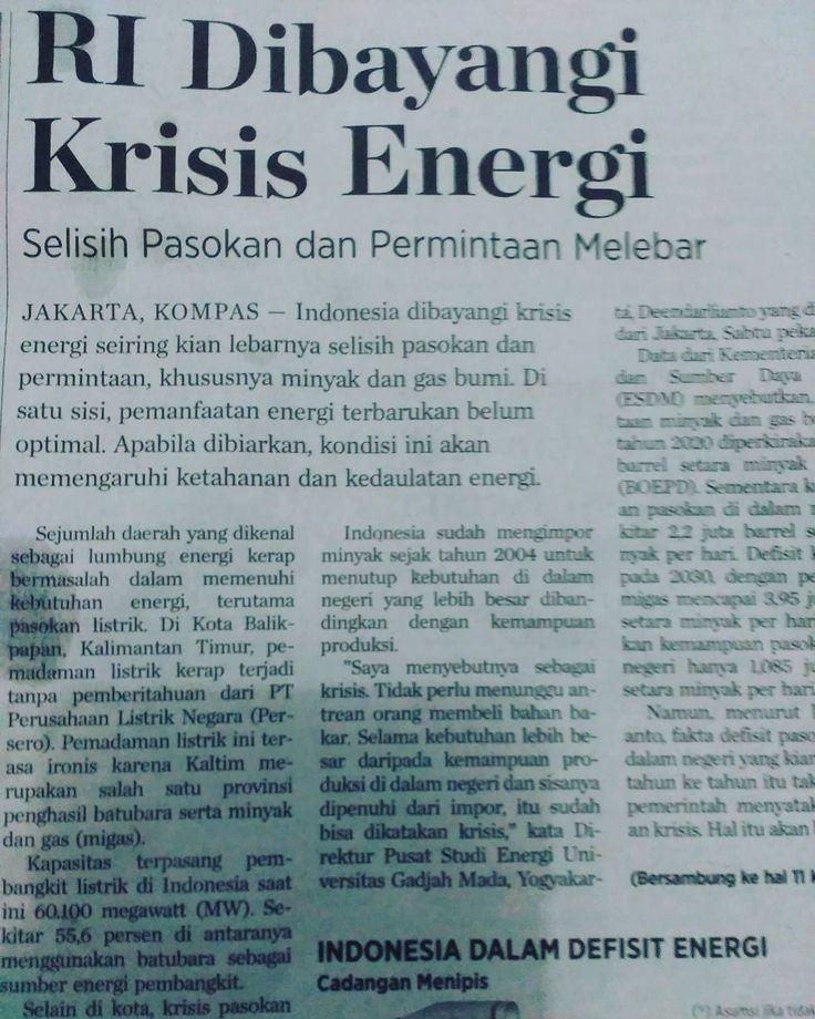 Begitu banyaaaaakkk energi alternatif. Dan indonesia belum mau mengembangkannya. http://ift.tt/2wpbkyM #marikitabelajar