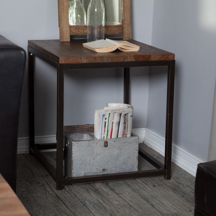 Townsend End Table - The Townsend End Table is a perfect example of furniture that's stylish in its simplicity. Designed to stand next to a sofa, loveseat, or ...
