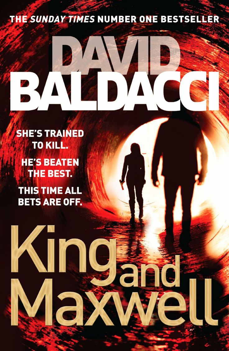 King and Maxwell by David Baldacci. As usual, a rattling