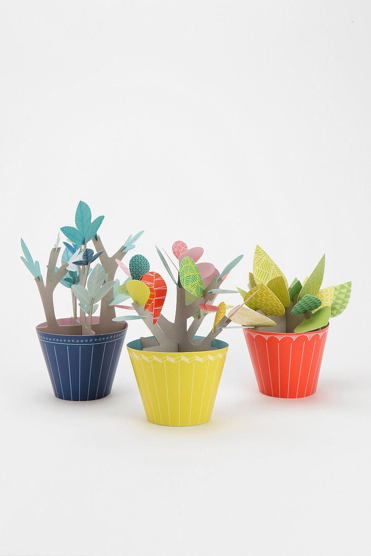 #UrbanOutfitters          #Apparment #Games         #punch-out #windowsill #plants #pots #plant #perch #diy #use #pop #fun #paper #color #pack #kit         Port-A-Plant Punch-Out Paper Plant Kit              Overview:* Finally, a plant that will live forever* DIY pack of punch-out paper plants that add a fun pop of color to any space* Includes 3 punch-out pots, paper stems & leaves for plant arrangements* Perch 'em on the windowsill, use 'em as a centerpi…