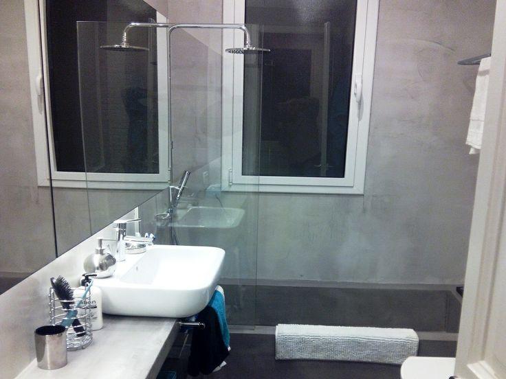 Baño completo en Barcelona, realizado íntegramente en ...