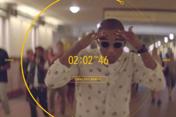 Pharrell Williams 24-Hour Music Video for 'Happy' Will Bring Joy, Insanity -- Pharrell Williams 24-Hour Music Video for 'Happy' Will Bring Joy, Insanity