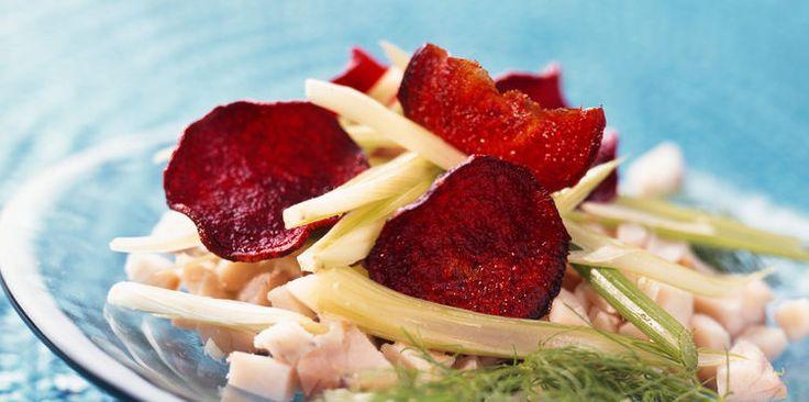 Salade d'espadon