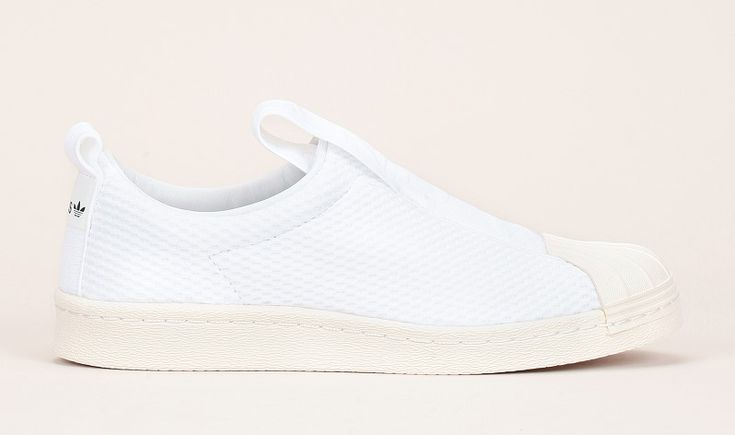 Adidas Originals Superstar Slip-on multi-matières blanc pas cher prix Baskets Femme Monshowroom 89.95 €