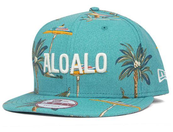 Aloalo Snapback Cap by NEW ERA