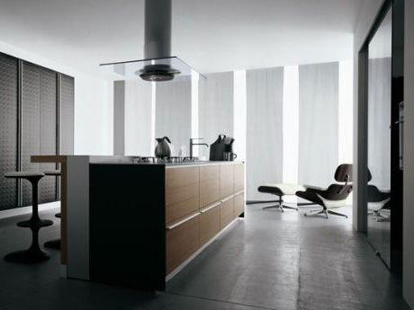Modern Walnut Kitchen Cabinets - Juglans By Valcucine