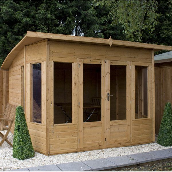 You Ll Love The 10 X 8 Ft Helios Summer House At Wayfair Co Uk Great Deals On All Outdoor Products With F Casas De Verao Pergula Em Patio Estufas De Madeira