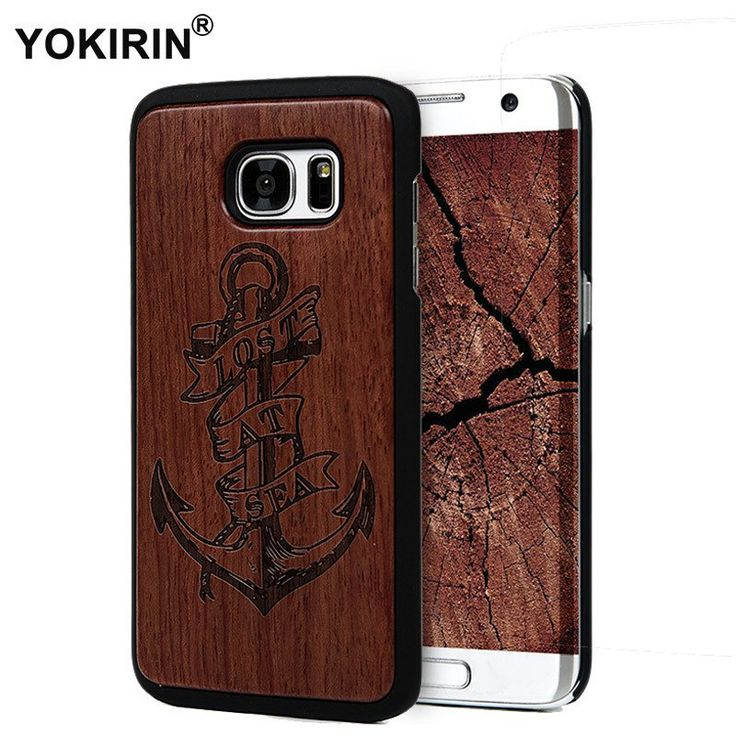 Bamboo Vintage Sculpture Wood for Samsung Galaxy S7 and S7 Edge Case