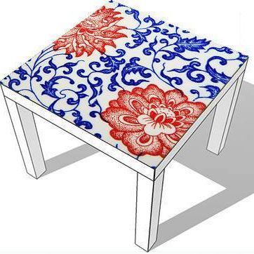 Furniture sticker CHINA FLOWERS by Sticky!!!