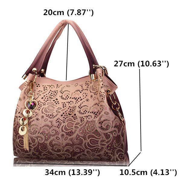 High-quality Women Vinage Hollow Out Pendant Shoulder Bags Elegant Retro Handbags - NewChic