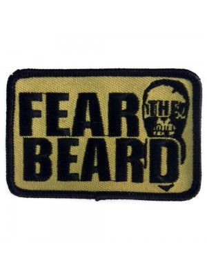 "Grunt Style Velcro Patch ""Fear the Beard"""