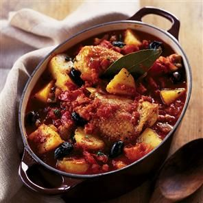 Spanish chicken and potato stew recipe... so good.