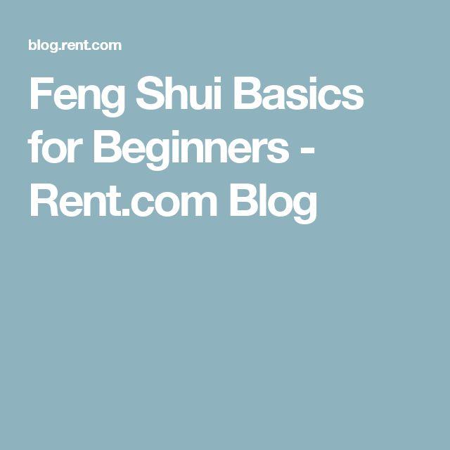 feng shui basics for beginners blog