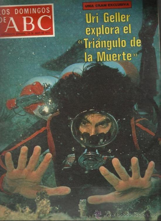los domingos de abc- uri geller explora el triangulo de la muerte-julio 1977
