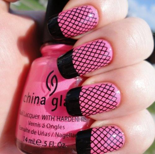 Blackl and Pink