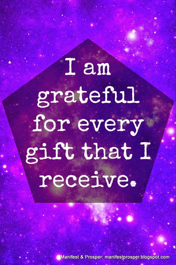 Manifest & Prosper: Manifest & Prosper: Gifts, Gratitude