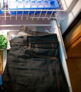 ΚΟΛΠΑ-TIPS: Βάλτε το τζιν παντελόνι σας στην κατάψυξη!